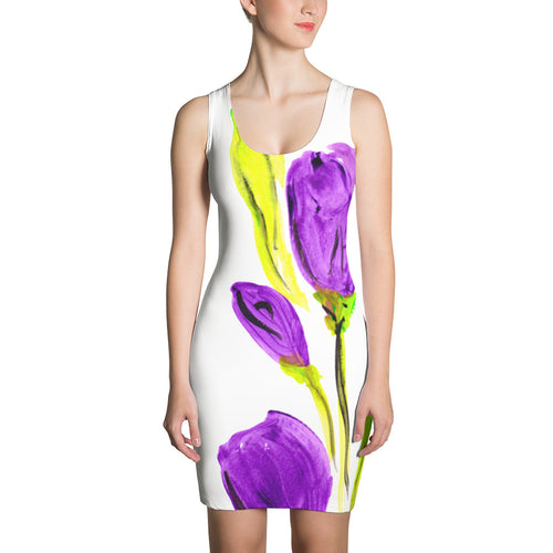 Purple Tulip Dress