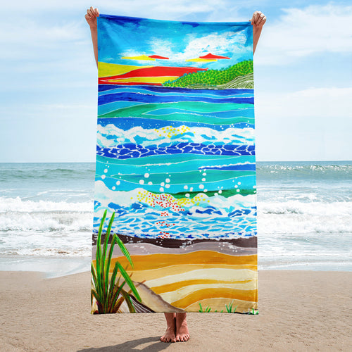 Whimsical Sunset • Towel