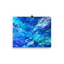 Load image into Gallery viewer, Blue Mysticism Art Print