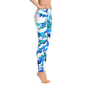 Blue Pine Trees • Leggings