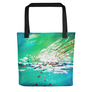 Quite A Splash • Tote Bag
