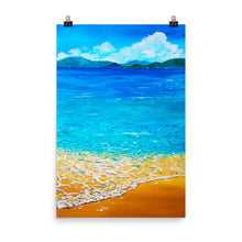 "Load image into Gallery viewer, ""Tropical Waters"" Art Print"