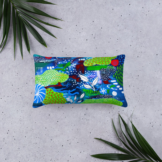 Lime Time • Basic Pillow