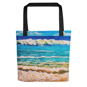 Tropical Waves • Tote Bag