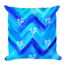 Palm Tree Pattern Square Pillow