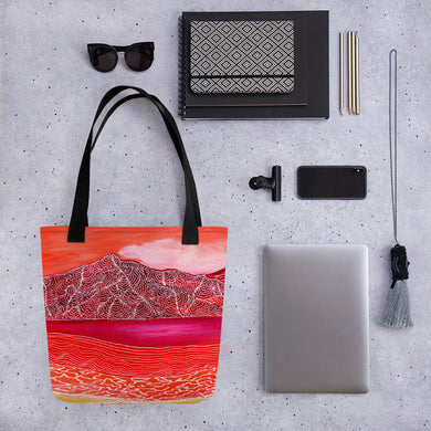 Orange Mountain • Tote bag
