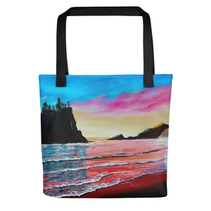 La Push Pink Beach • Tote bag