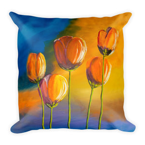 Tulips • Square Pillow