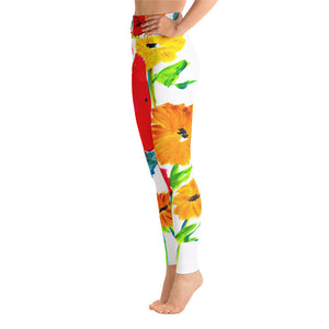 Spring Flowers • Yoga Leggings