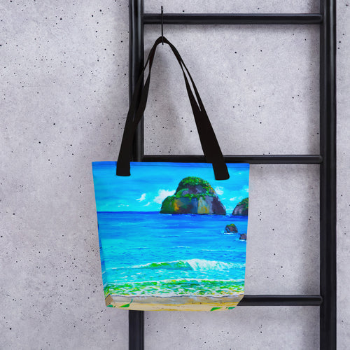 My Kinda Beach • Tote bag