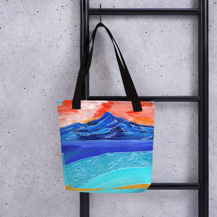 Blue Mountain Sunset • Tote bag