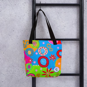 Wheels of Color • Tote bag