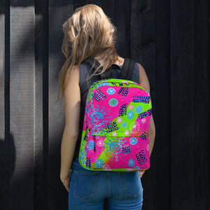 Pink and Lime • Backpack