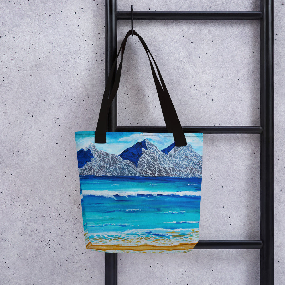 Island Mountains • Tote bag