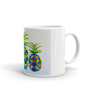 Blue Pineapples • Mug
