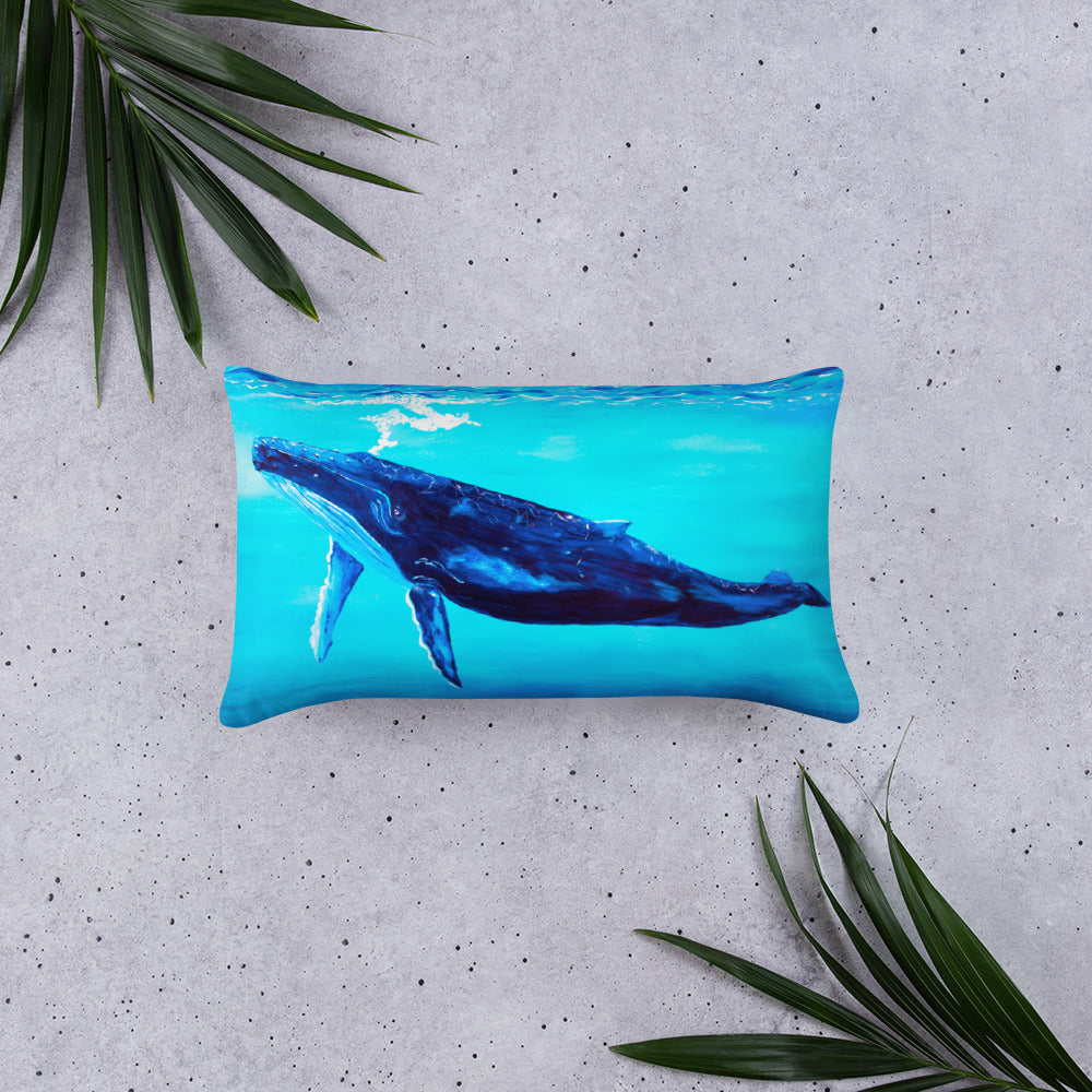 Into The Blue • Basic Pillow