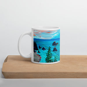 Trees On The Coast • Mug