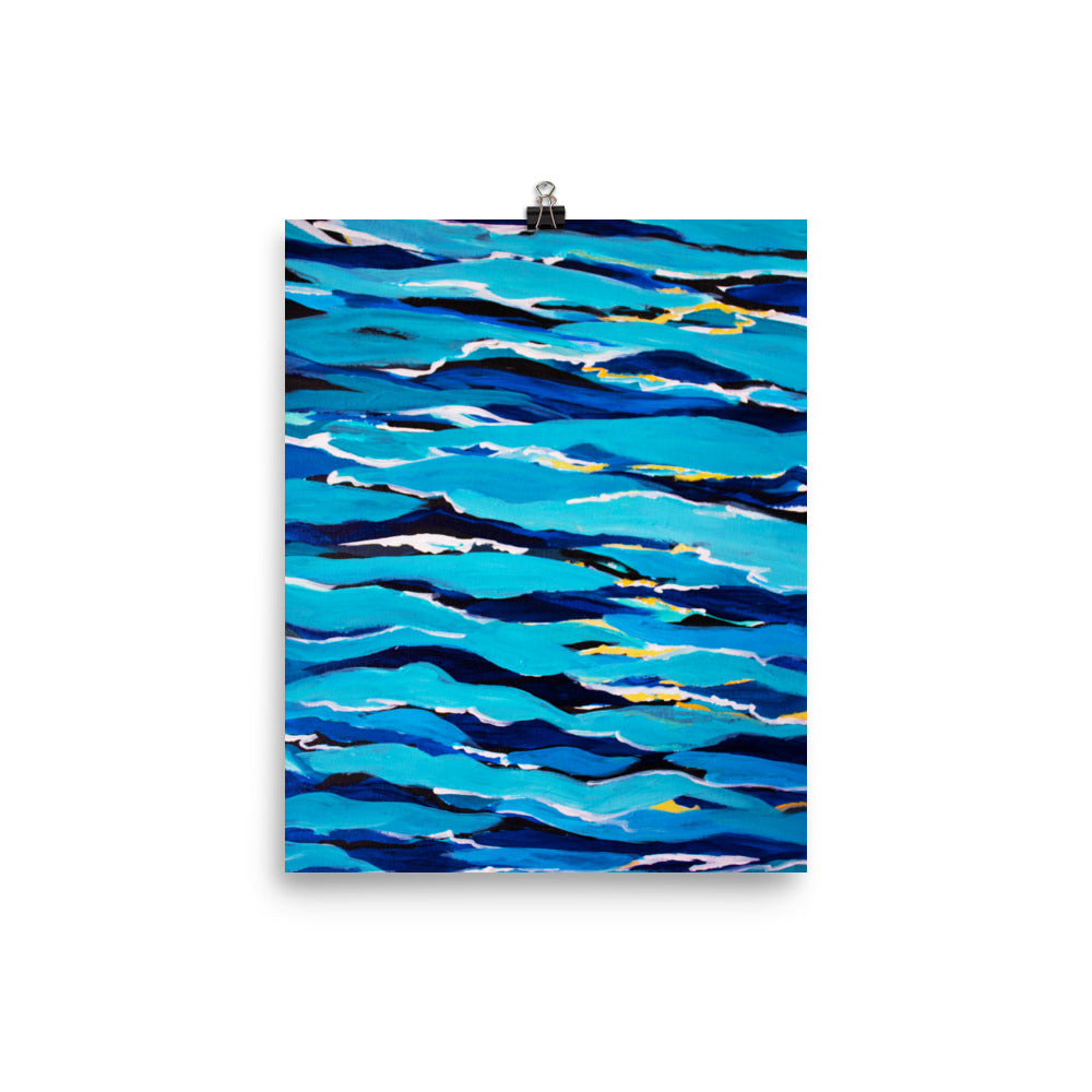 Waves • Art Print