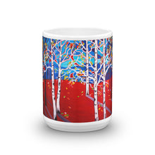 Sunset Aspens • Mug
