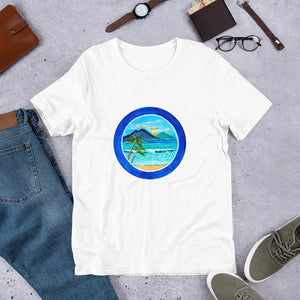 Beach Scene • Short-Sleeve Unisex T-Shirt