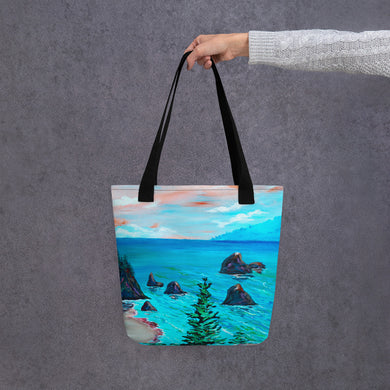 Trees On The Coast •Tote bag