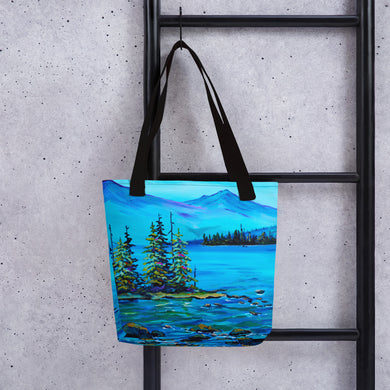 Misty Mountain • Tote bag