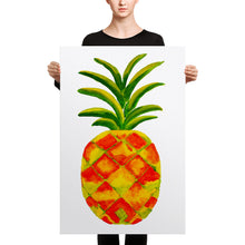 Golden Pineapple Canvas 24 x 36 inches