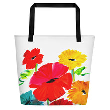 Spring Flowers Beach Bag