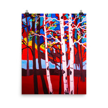 Sunset Aspens II • Art Print