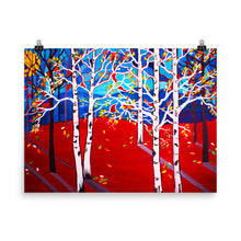 Sunset Aspens • Art Print