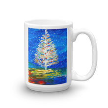 Christmas Tree In The Snow • Mug