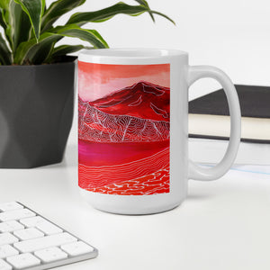 Orange Mountain • Mug