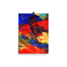 Red n Blue Art Print