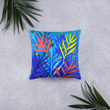 Abstract Ferns • Basic Pillow