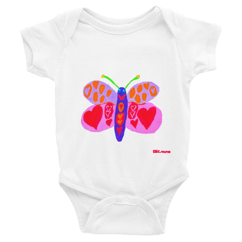 Ellie's Butterfly Infant Bodysuit