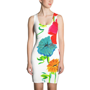 Spring Flowers • Fitted Dress