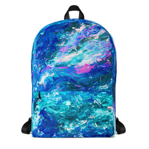 Blue Mysticism Backpack