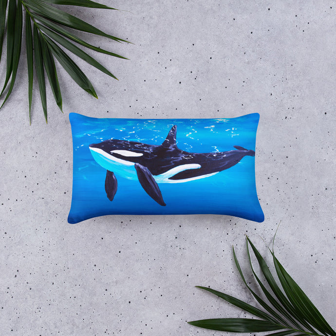 Orca • Basic Pillow Front