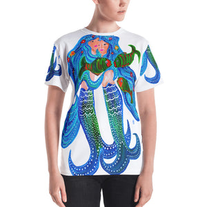 Mermaids • Women's All Over Print T-Shirt