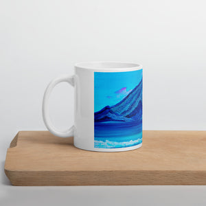 Many Lines Mountain • Mug