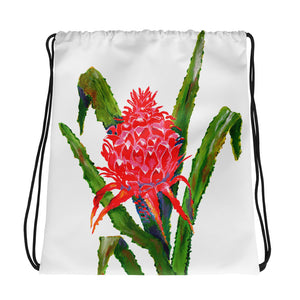 Bromeliad • Drawstring bag