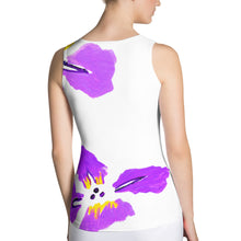 Purple Iris Women's Tank Top