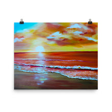 Load image into Gallery viewer, Sunset Beach • Art Print