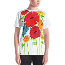 Spring Flowers • Women's  All Over Print T-Shirt