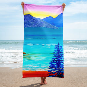 Lake Sunrise • Towel
