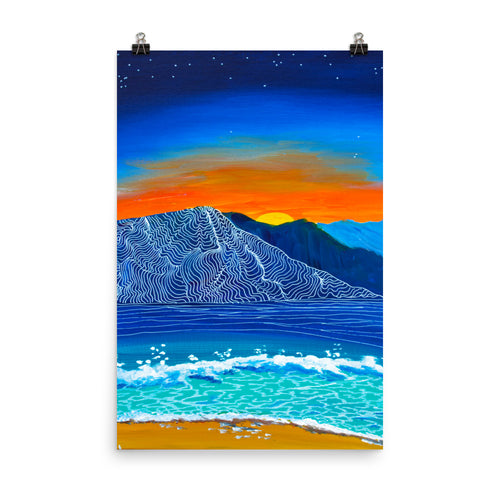 Sunset Slip • Art Print
