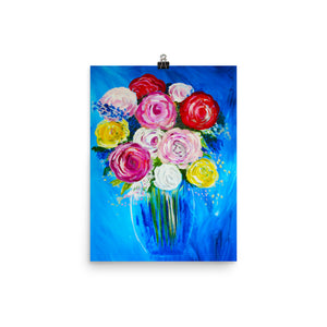 Vase Of Flowers • Art Print