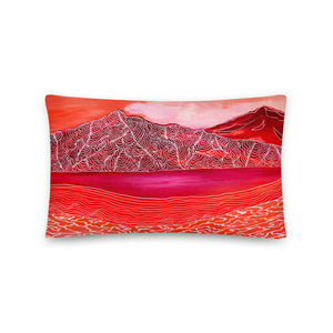 Red Mountain • Basic Pillow Front