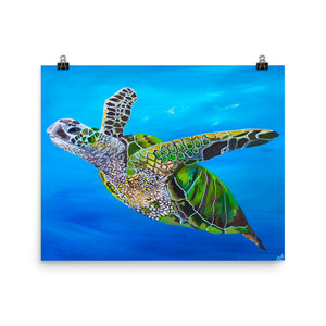 Sea Turtle • Art Print