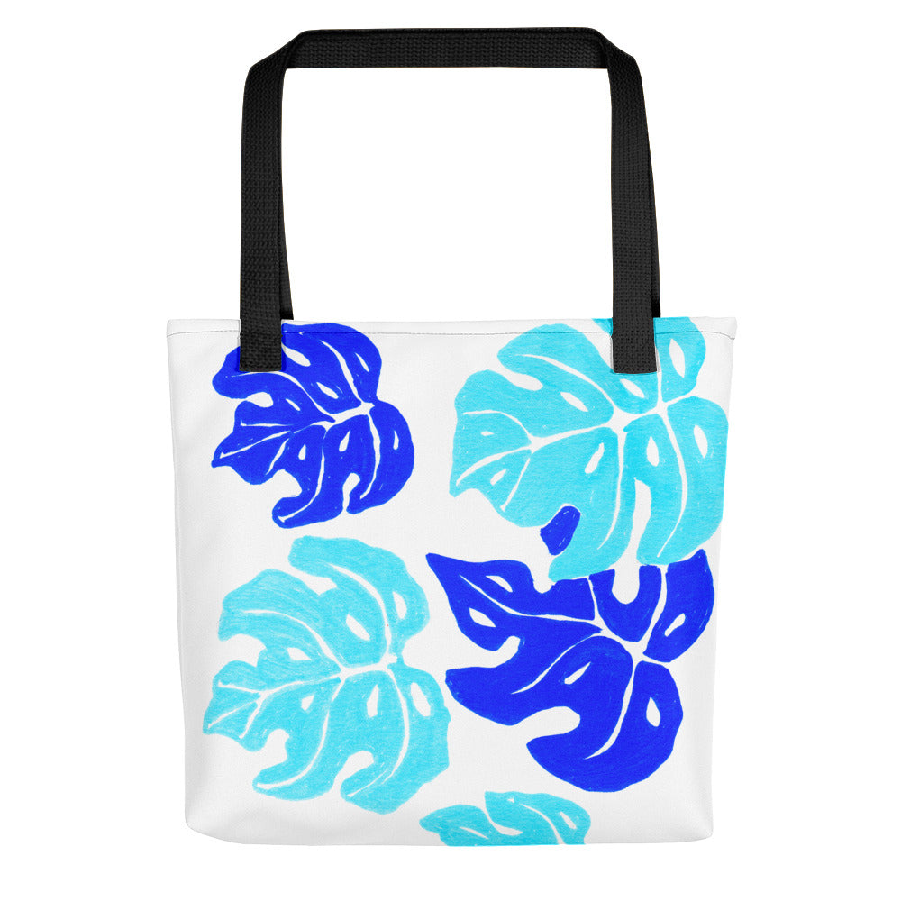 Blue Monteria Tote Bag